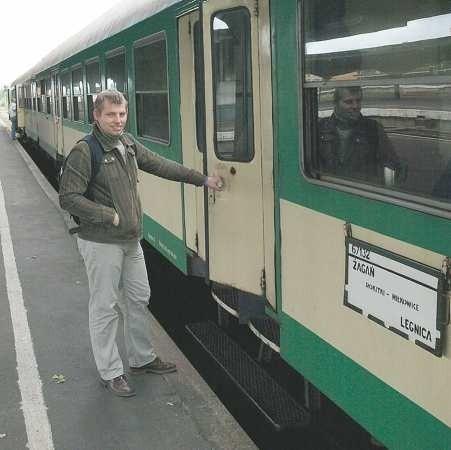 - Zabierając Bobra władze województwa pokazują, że marginalizują nasz region - uważa Adam Raciborski, student z Żagania, który regularnie dojeżdża do Legnicy