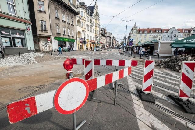 Rozpoczyna się budowa przystanków wiedeńskich przy ul. Dąbrowskiego