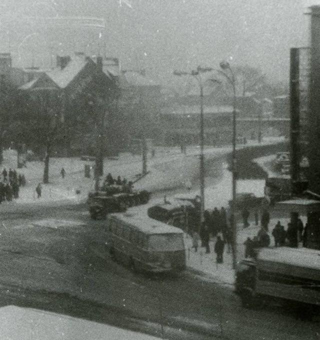 Grudzień 1981 na ulicach Gorzowa