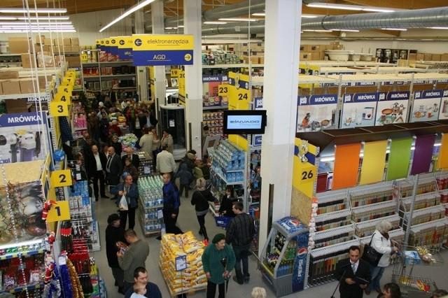 W ubiegłą sobotę otwarto w Pińczowie kolejny, 55 sklep budowlany PSB-Mrówka.