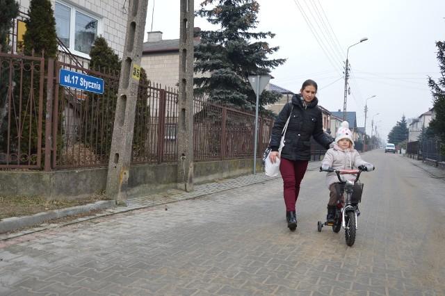 Dawna ulica 17 Stycznia w Łowiczu