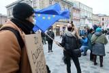"""""""Stop wyprowadzaniu Polski z UE"""". Komitet Obrony Demokracji manifestował w Lublinie"""
