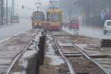 Brakło pieniędzy na remont torów na ul. Przybyszewskiego [zdjęcia]