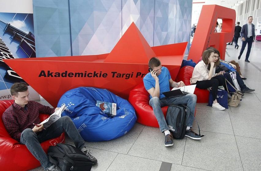 W środę w Łodzi zorganizowano Akademickie Targi pracy 2018