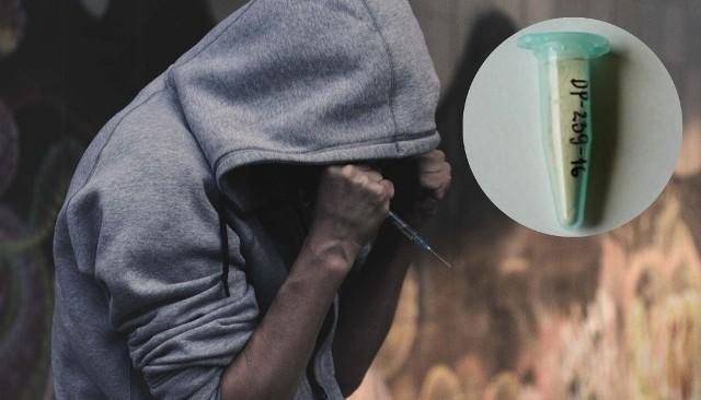 Etazen to zamiennik heroiny lub fentanylu.
