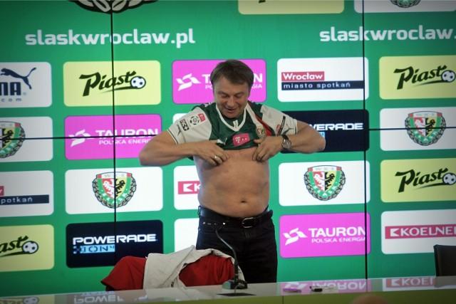 Tadeusz Pawłowski - nowy trener Śląska Wrocław