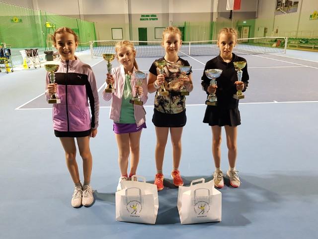 W Zielonej Górze odbyły się tenisowe Mistrzostwa Województwa Lubuskiego Skrzatek.