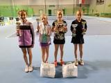 Najmłodsze tenisistki GKT Nafta Zielona Góra zdominowały Mistrzostwa Województwa Lubuskiego