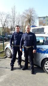 Policjanci z Pleszewa mieli złapać pirata drogowego, a uratowali życie 3-miesięcznemu dziecku