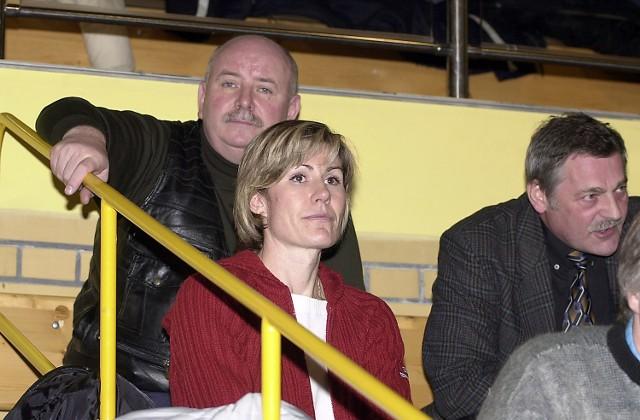 Tym razem Irina Archangielskaja zagrzewała swe koleżanki do gry z trybun.