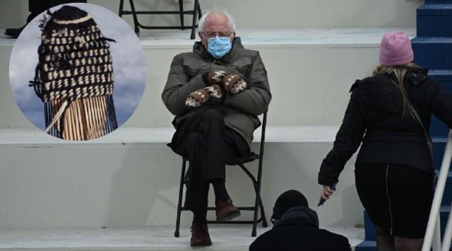 Bernie Sanders na zaprzysiężeniu Joe Bidena.