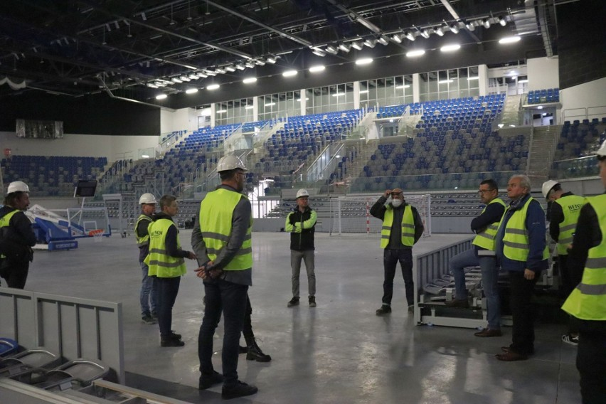 Komisja do spraw budowy Radomskiego Centrum Sportu zwiedziła...