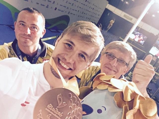 Piotr Grudzień zdobył brązowy medal na igrzyskach paraolimpijskich w Rio