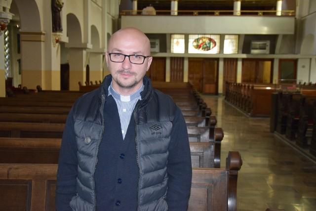 o. Grzegorz Kramer, proboszcz parafii NSPJ w Opolu