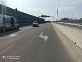 Groźny wypadek w Łodzi. Zderzyły się cztery samochody. Jeden kierowca został ranny i trafił do szpitala