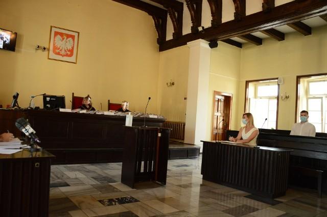 Posiedzenie Sądu Rejonowego w Oświęcimiu, 8 lipiec 2020r.