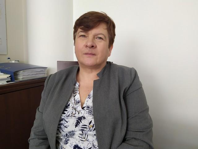 Wiesława Barzycka, dyrektor Szpitala Powiatowego w Nowej Dębie w powiecie tarnobrzeskim apeluje do mieszkańców regionu o pomoc dla lecznicy