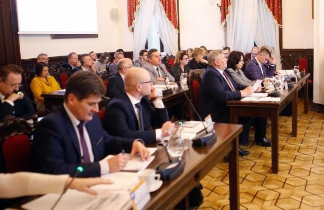 Na zdjęciu sesja Rady Miasta w Rzeszowie z 22 stycznia.