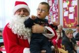 Niewidome dzieci z Grudziądza odwiedził Mikołaj [zdjęcia]