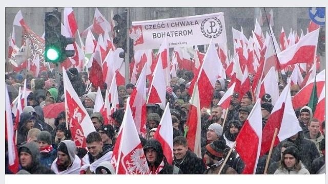Marsze w Narodowy Dzień Pamięci Żołnierzy Wyklętych odbyły się w wielu miastach, ale w powiecie świeckim nie było żadnego.
