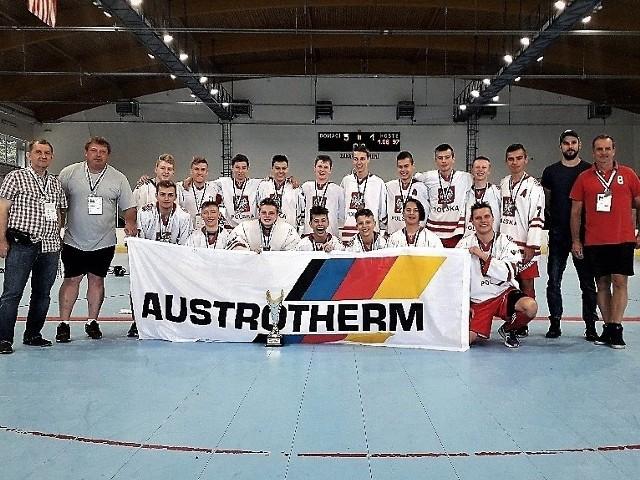 Młodzi oświęcimianie w barach reprezentacji Polski w hokejballu