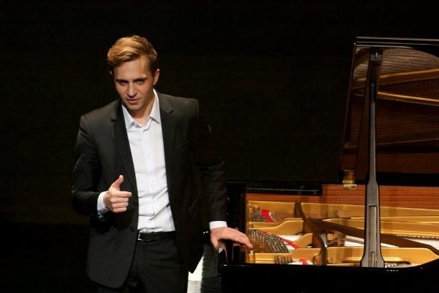 Kirył Keduk to pianista z Grodna