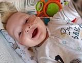 Udało się zebrać pieniądze na operację 7-miesięcznego Wiktora z Myśliny! Ale zbiórka trwa nadal