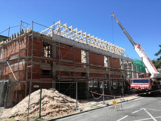 Budowa Galerii Podwale prowadzona jest w ekspresowym tempie. Obiekt ma być gotowy w nieco ponad pół roku.