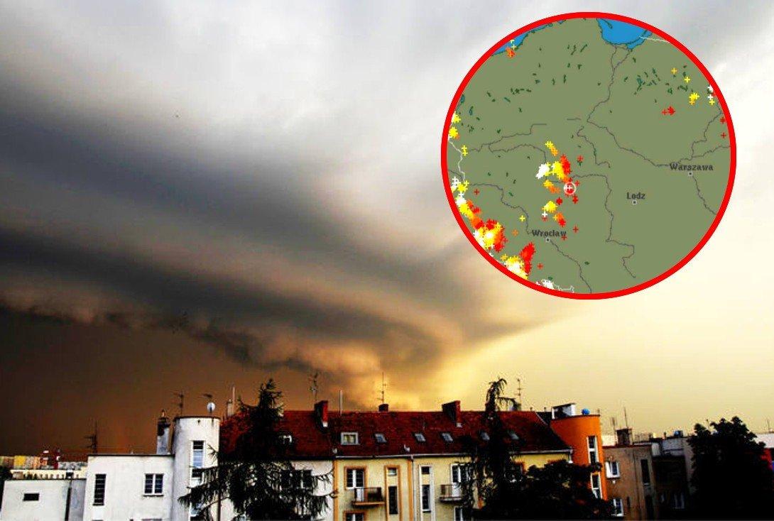 Ostrzeżenia IMGW. Radar burz online [7/8.2020 r.] Gdzie jest burza? MAPA pogodowa live, radar opadów | Express Bydgoski