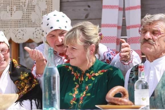 W Muzeum Wsi niedawno można było prześledzić cały obrzęd białoruskiego wesela