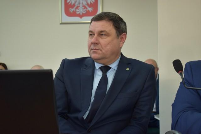 Ryszard Zakrzewski, wicestarosta powiatu krośnieńskiego.