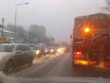 Zima zaatakowała. Bardzo trudne warunki na zielonogórskich ulicach