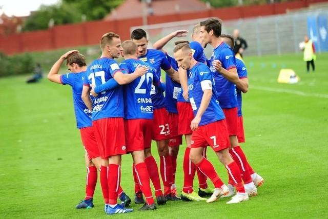 Odra w Opolu pokonała Garbarnię 3-0.