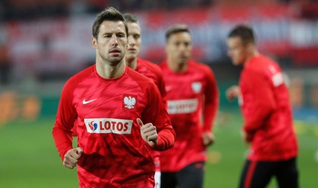 Grzegorz Krychowiak nie wystąpi w Słowenii? Kto w jego miejsce?