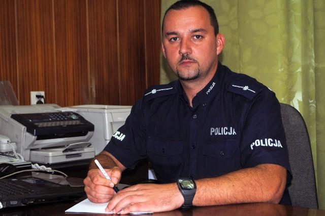 Aby zagłosować na Tomasza Pałubskiego wyślij SMS o treści POLICJANT.1 na numer 7155 (koszt 1.23 zł z VAT)