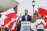 Rafał Trzaskowski w Gdańsku: Polska potrzebuje planu odbudowy, a ja taki plan mam