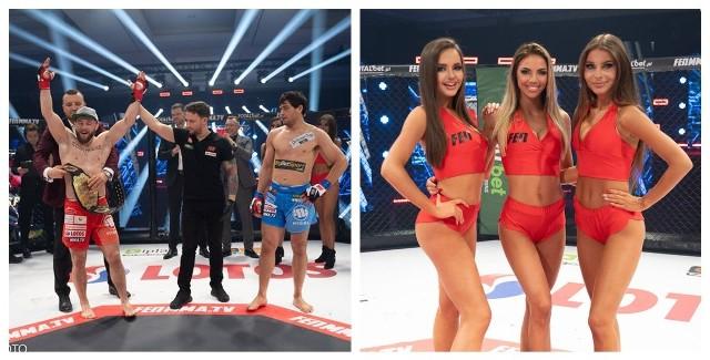 Wojciech Kawa, Wojciech Janusz oraz Mateusz Rębecki - tak wyglądał zestaw zawodników, reprezentujących kluby ze Szczecina, którzy wzięli udział w gali FEN 32: Lotos Fight Night w formule MMA (mieszane sztuki walki).