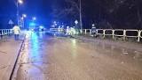 Pracowita noc strażaków w Podlaskiem. Połamane drzewa i gałęzie na drogach oraz jedna ofiara śmiertelna pożaru [ZDJĘCIA]