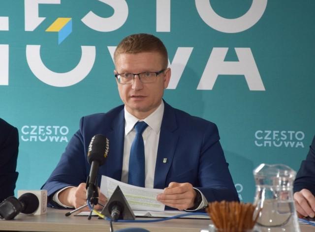 Konferencja w sprawie zagrożenia koronawirusem w Częstochowie