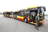46 nowych autobusów Solaris w łódzkim MPK. Mają na dachach baterie słoneczne [FILM]