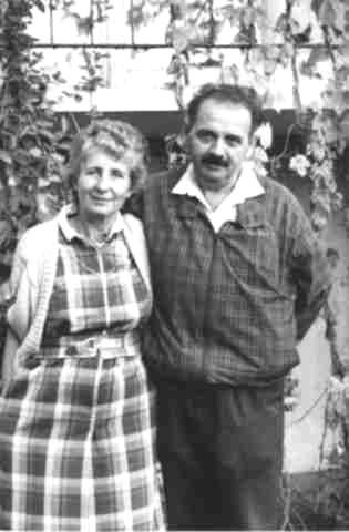 Profesor Janusz B. Faliński z żoną Krystyną