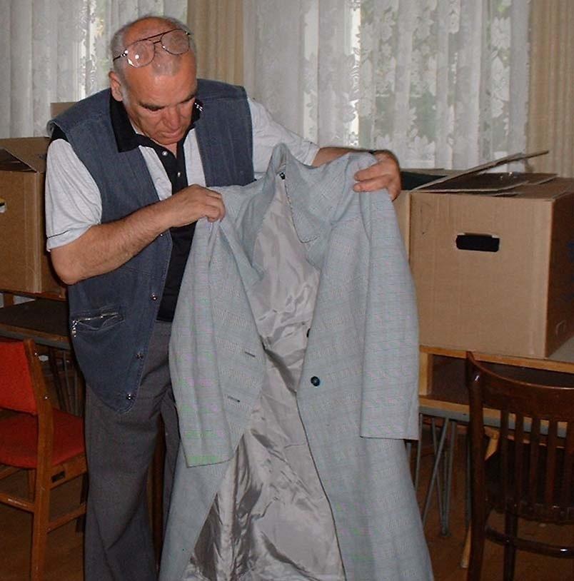 - Chwała niemieckim seniorom, że nam pomagają - mówi Roch Cieślak, przewodniczący Związku Emerytów, Rencistów i Inwalidów.