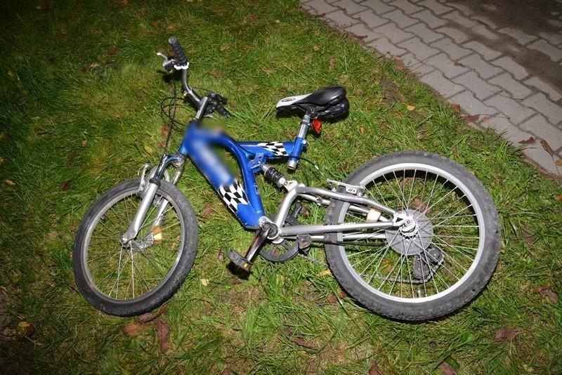 Wczoraj wieczorem w Korczynie doszło do wypadku z udziałem 9-letniego rowerzysty.
