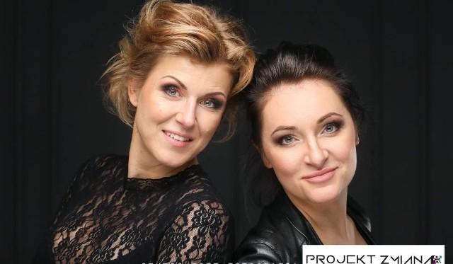 Nina Kaczmarek z kobietowo.pl i Joanna Dudziak z Centrum Mediacji i Negocjacji Biznesowych, organizatorki Projektu Zmiana