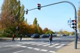 Nowe światła na przycisk przy ul. Parzęczewskiej już działają