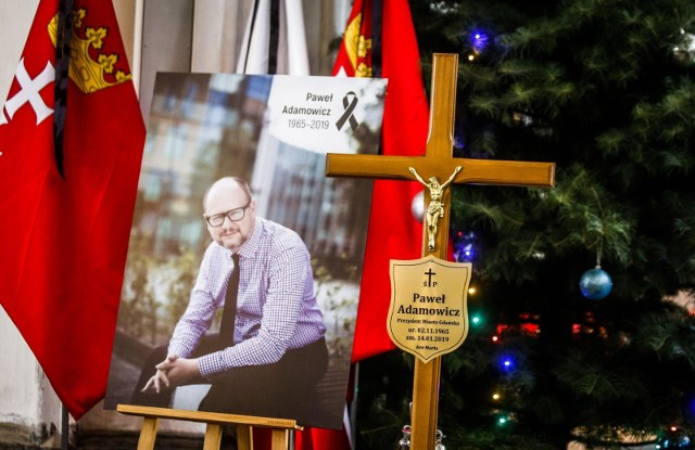 19.01.2019 gdansk.bazylika mariacka. uroczystosci pogrzebowe zamordowanego prezydenta miasta Gdanska