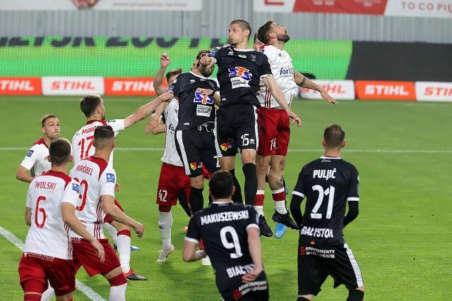 ŁKS gra ze Śląskiem Wrocław