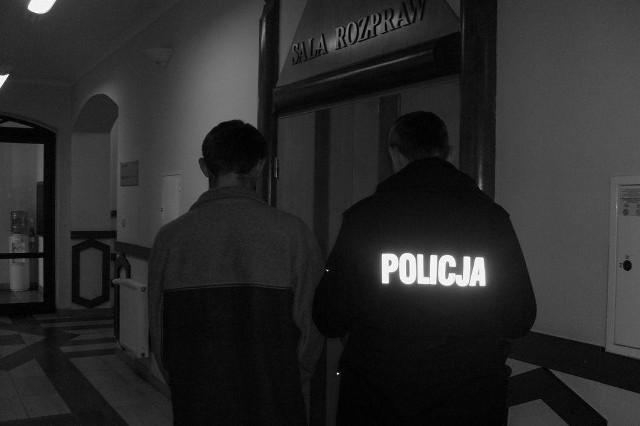Jeden z zatrzymanych w Golubiu-Dobrzyniu rozbójników