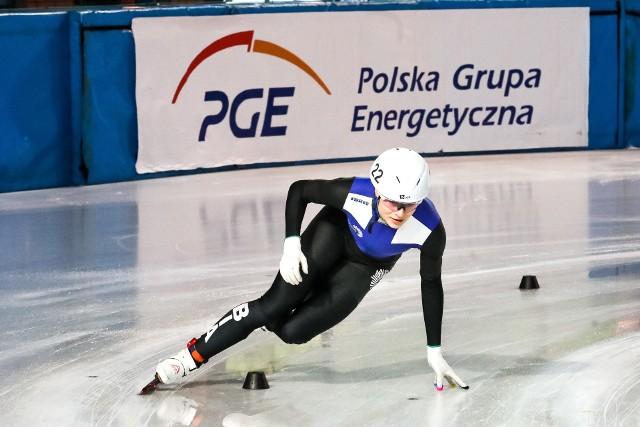 Natalia Maliszewska była bezkonkurencyjna podczas mistrzostw Polski w short tracku