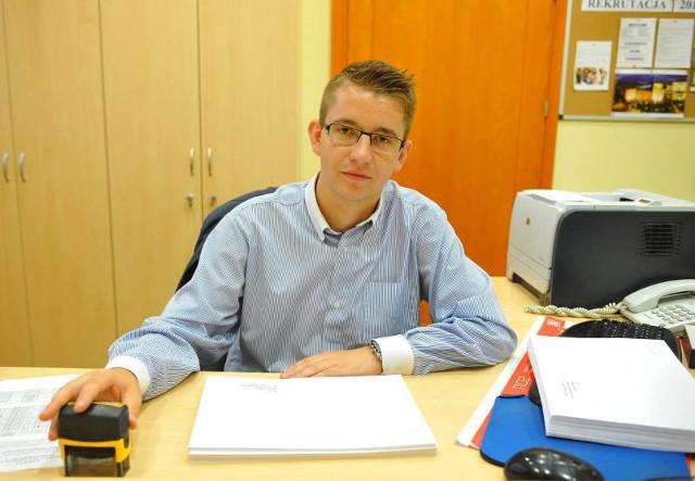 """- Niesłabnącą popularnością na naszej uczelni cieszy się kierunek """"bezpieczeństwo wewnętrzne"""" - mówi Jakub Wiciejowski z działu rekrutacji WSPiA w Rzeszowie."""